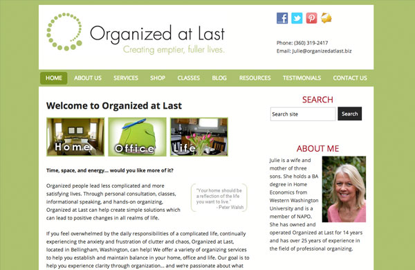 Organized at Last