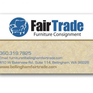 Fair Trade Furniture Graphic Design