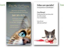 Lisa the Cat Nanny Graphic Design