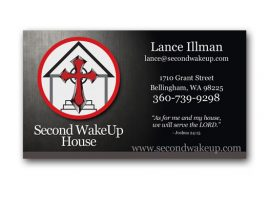 Second WakeUp House Graphic Design