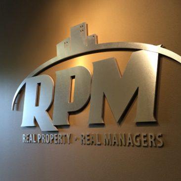 RPM Interior Signage