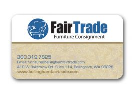 Fair Trade Furniture Graphic Design