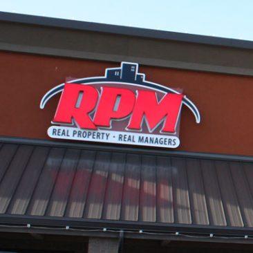 RPM Building Signage