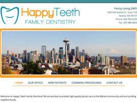 Happy Teeth Ballard Website