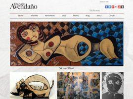 John Andro Avendano Website