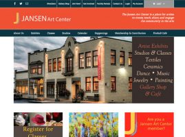 Jansen Art Center Website