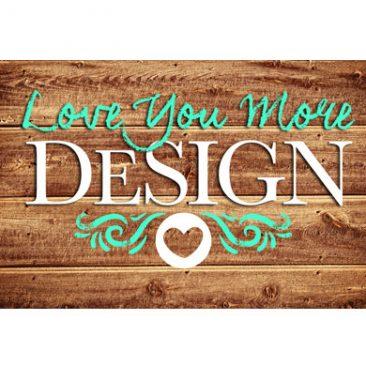 Love You More DeSign Logo