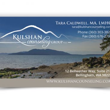 Kulshan Counseling Group Business Card