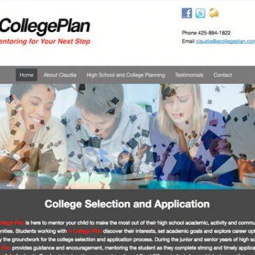 Website: A College Plan