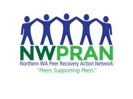 Logo: Northern WA Peer Recovery Action Network
