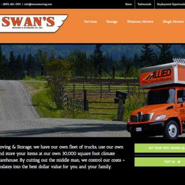 Website: Swan's Moving & Storage