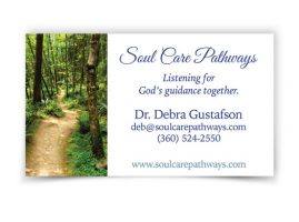 Soul Care Pathways Business Card