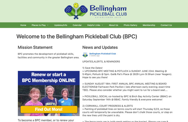 Bellingham Pickleball Club