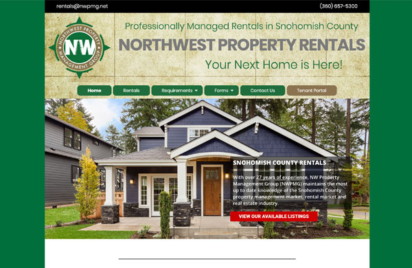 Northwest Property Rentals