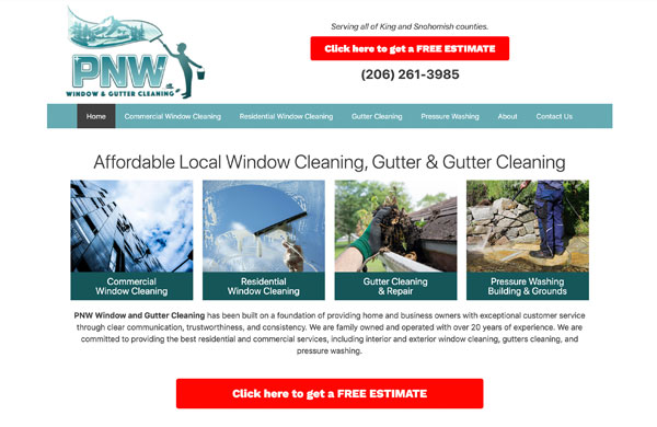 Pacific Northwest Window Cleaning